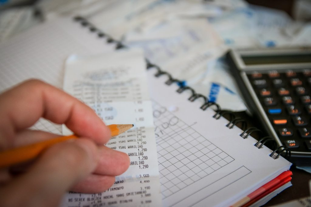 Tracking expenses and record keeping