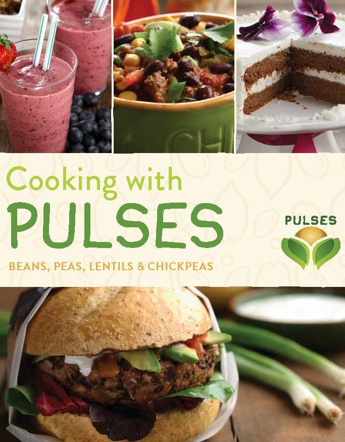 Downloadable recipe books from Pulse Canada