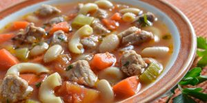 Turkey Minestrone Soup